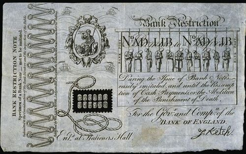 Forged banknote