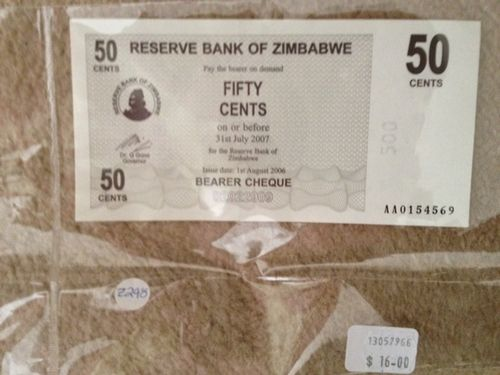 Zimbabwe's currency crisis and the 100 trillion dollar note
