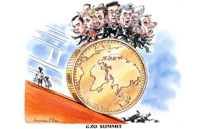 Cartoon - G20