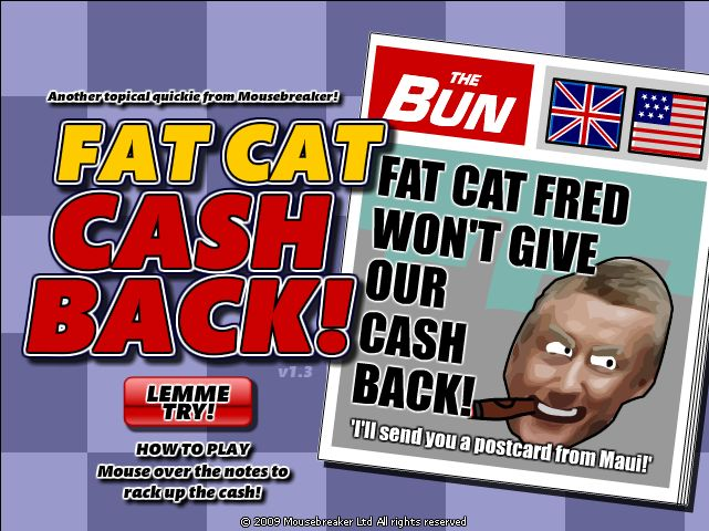 Fat Cat Cash Back