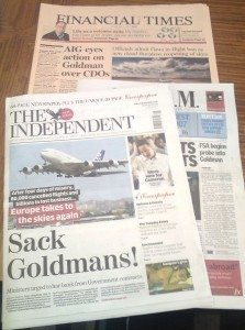 Goldman Sachs papers