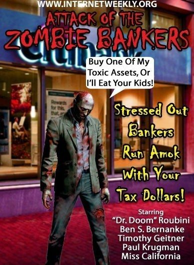 Something far more frightening than Zombie Bankers - Chris