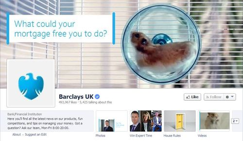 Barclays facebook