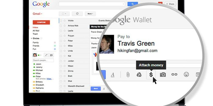 Google Gmail Money